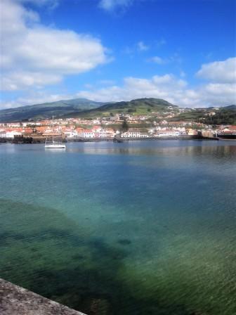 Flawless beauty in nearby Porto Pim