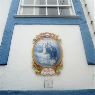 A house sign in Calheta, Sao Jorge