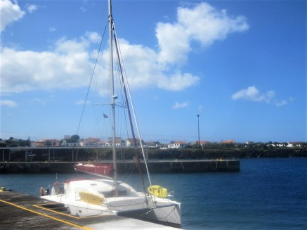 Docking at Madalena