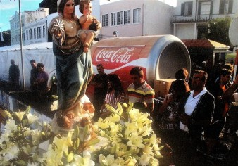 Our Lady takes to the streets